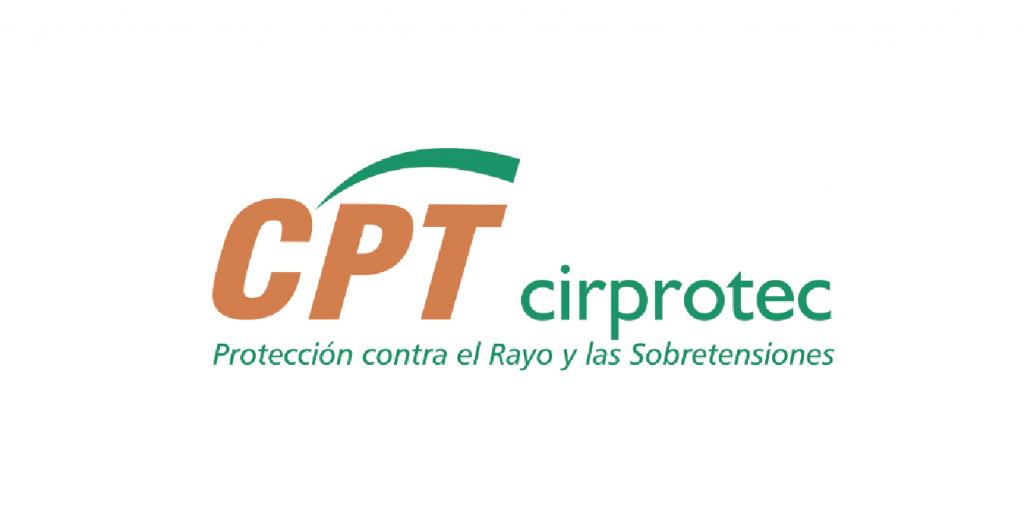 Logo CPT Cirprotec. Protección contra el Rayo y las Sobretensiones
