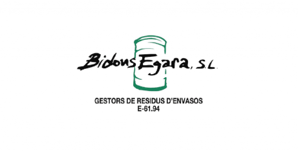 Logo Bidons Egara, S.L. Gestors de residus d'envasos E-61.94