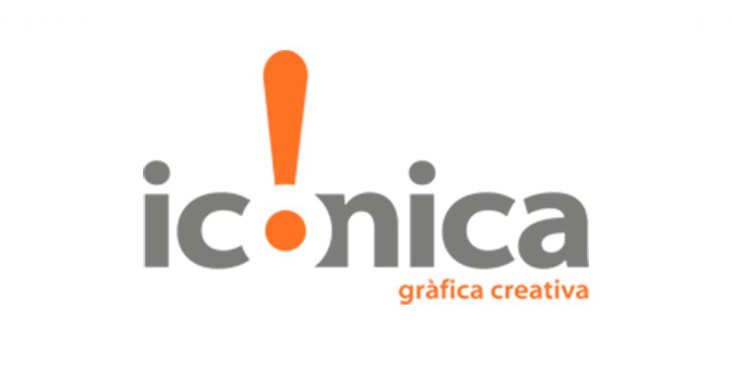Logo empresa Iconica grafica creativa