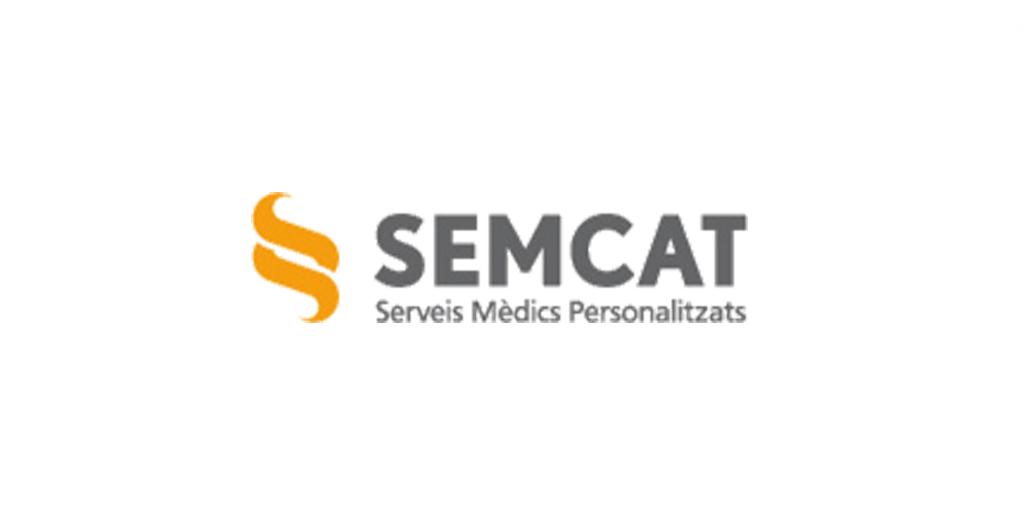 Logo empresa Semcat. Serveis Mèdics Personalitzats