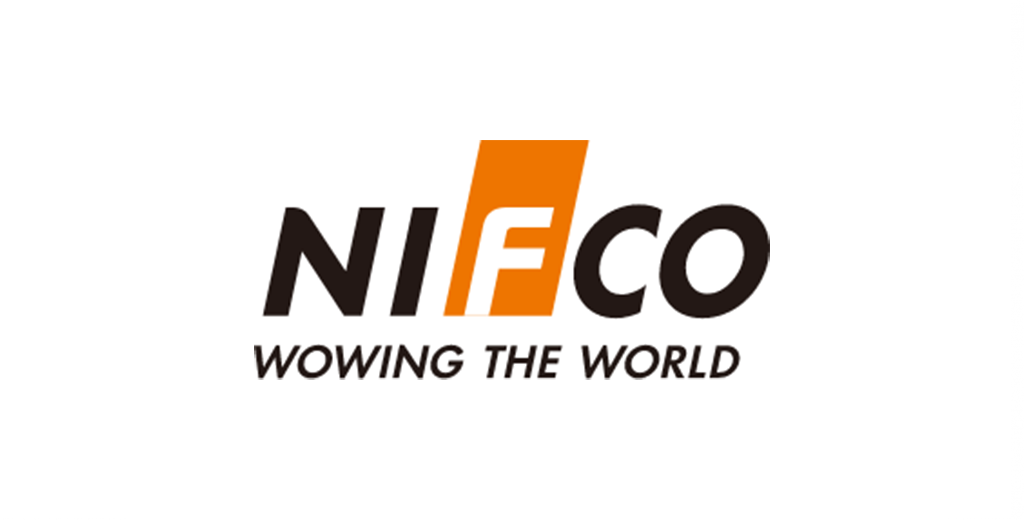 Logo empresa Nifco Wowing The World