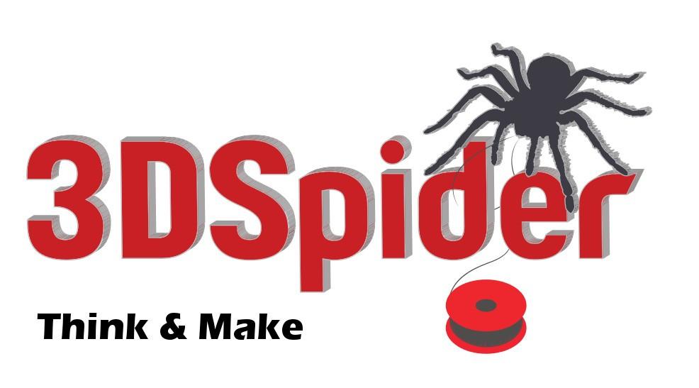 Logo empresa 3DSpider. Think & Make