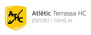 Logo Atlètic Terrassa HC. Esport i família