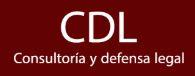 Logo empresa CDL Consultoría y defensa legal