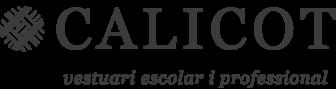 Logo empresa Calicot. Vestuari escolar i professional