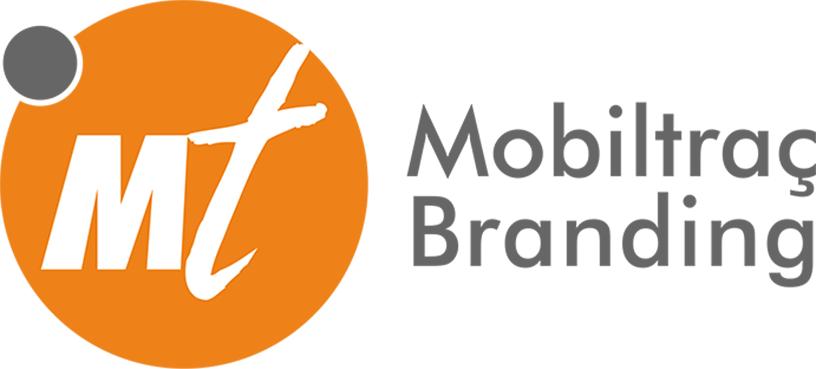 Logo empresa MT Mobiltraç Branding