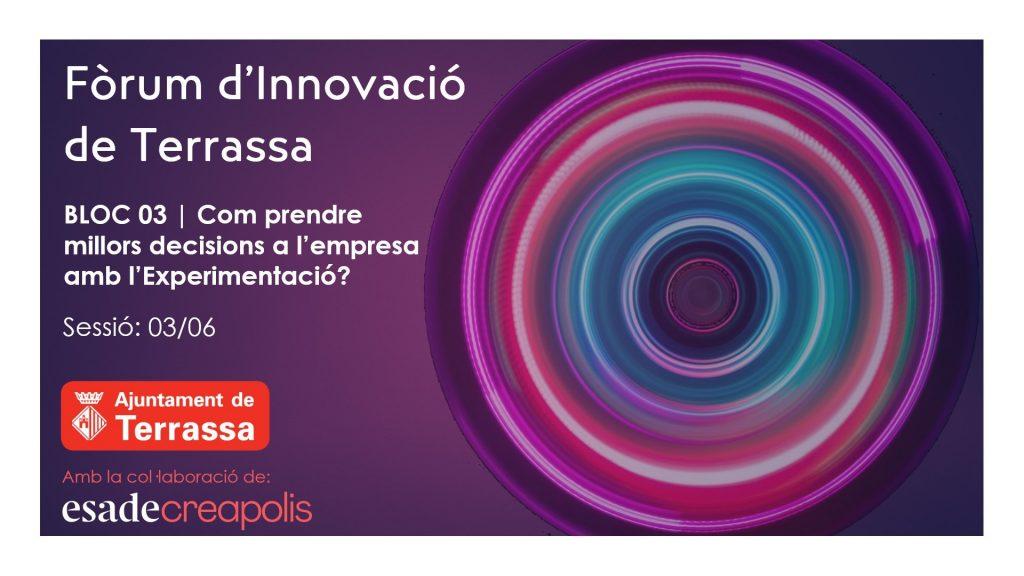 Bloc 03 Fòrum d'Innovació de Terrassa