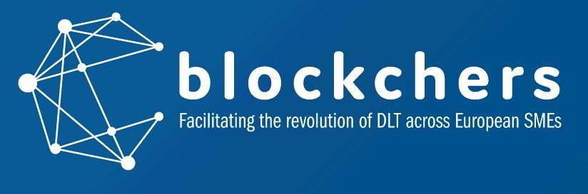Logo Blockchers. Facilitating the revolution of DLT across European SMEs
