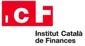 Logo ICF. Institut Català de Finances