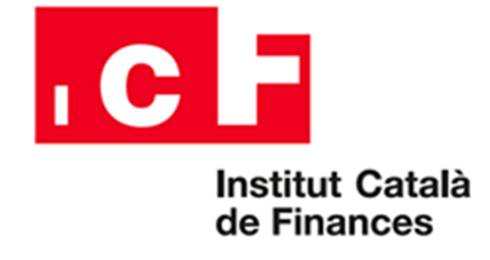 Logo ICF Institut Català de Finances