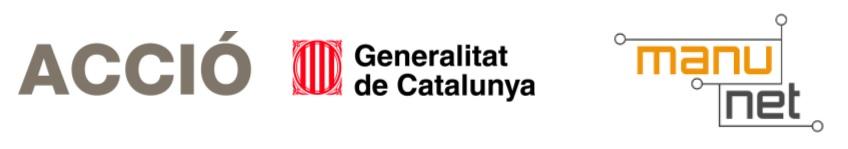 Logo Acció, Generalitat de Catalunya i Manunet