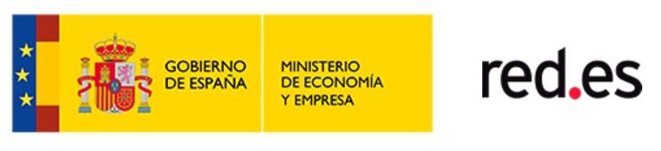 Logo Gobierno de España. Ministerio de Economía y empresa. Red.es