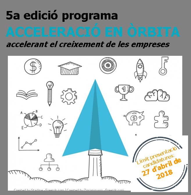 5a edició Acceleració en Òrbita40
