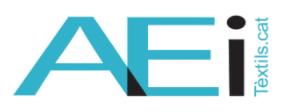 L'AEI TÈXTILS coorganitza, els dies 24 i 25 de febrer, tres webinars per ajudar les empreses tèxtils a accedir a finançament públic, innovar en nous mercats i impulsar els tèxtils intel·ligents.