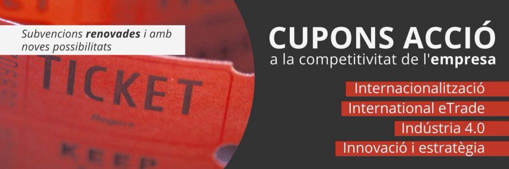Cupons ACCIÓ 2021 a la competitivitat de l'empresa
