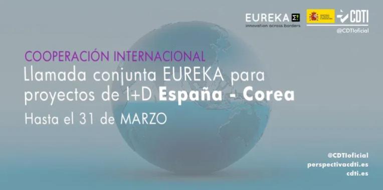 Crida conjunta EUREKA 2021 entre Corea i Espanya per la col·laboració tecnològica entre empreses