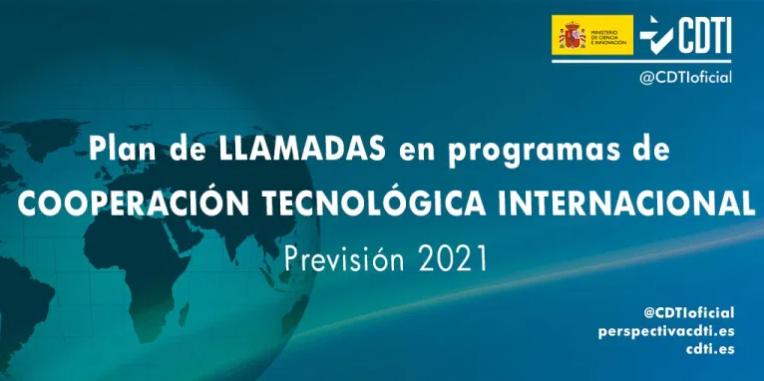 El CDTI presenta el seu Pla de Crides Internacionals per a 2021