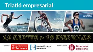 L'Ajuntament de Terrassa i la Fundació Cecot Innovació organitzen el primer Triatló Empresarial