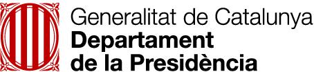 Logo Departament Presidència Generalitat