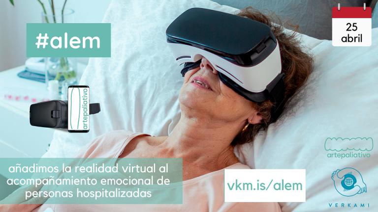 Alem, projecte participant en el Crowdfunding Terrassa Innovació, implementa la realitat virtual i els vídeos 360 per millorar el benestar emocional de les persones que pateixen alguna malaltia