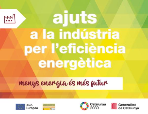 Ajuts a la indústria per l'eficiència energètica