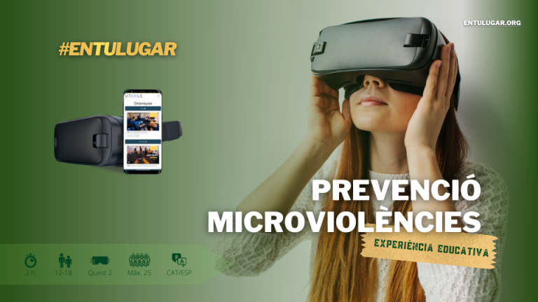 #EnTuLugar, projecte participant en el Crowdfunding Terrassa Innovació, presenta la seva experiència educativa per a prevenir les microviolències entre joves