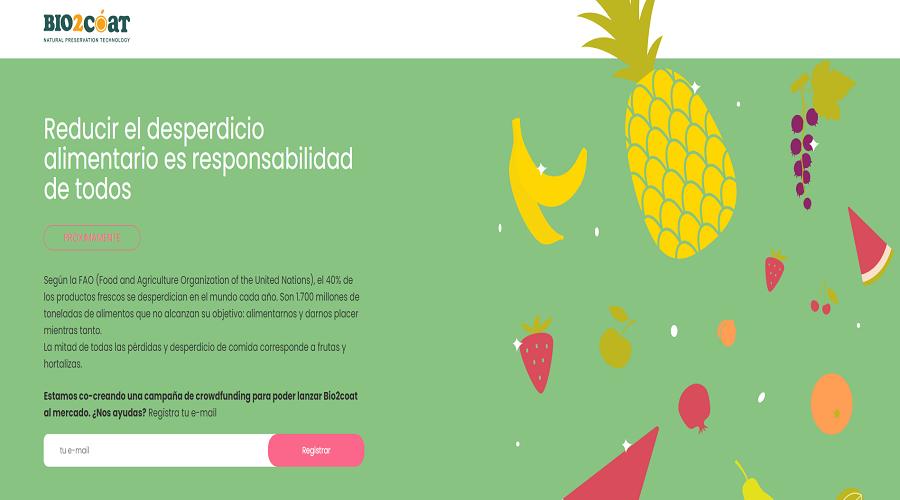 Enllaç a la pàgina de precampanya de Bio2coat