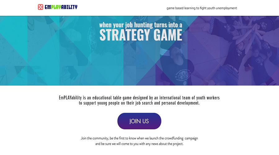 Enllaç a la pàgina de precampanya d'Emplayability